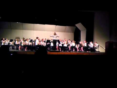 Redlands Middle School Band at GJHS 2012 2