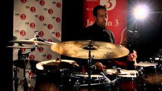 Jazz on 3: Birdman composer Antonio Sanchez in session