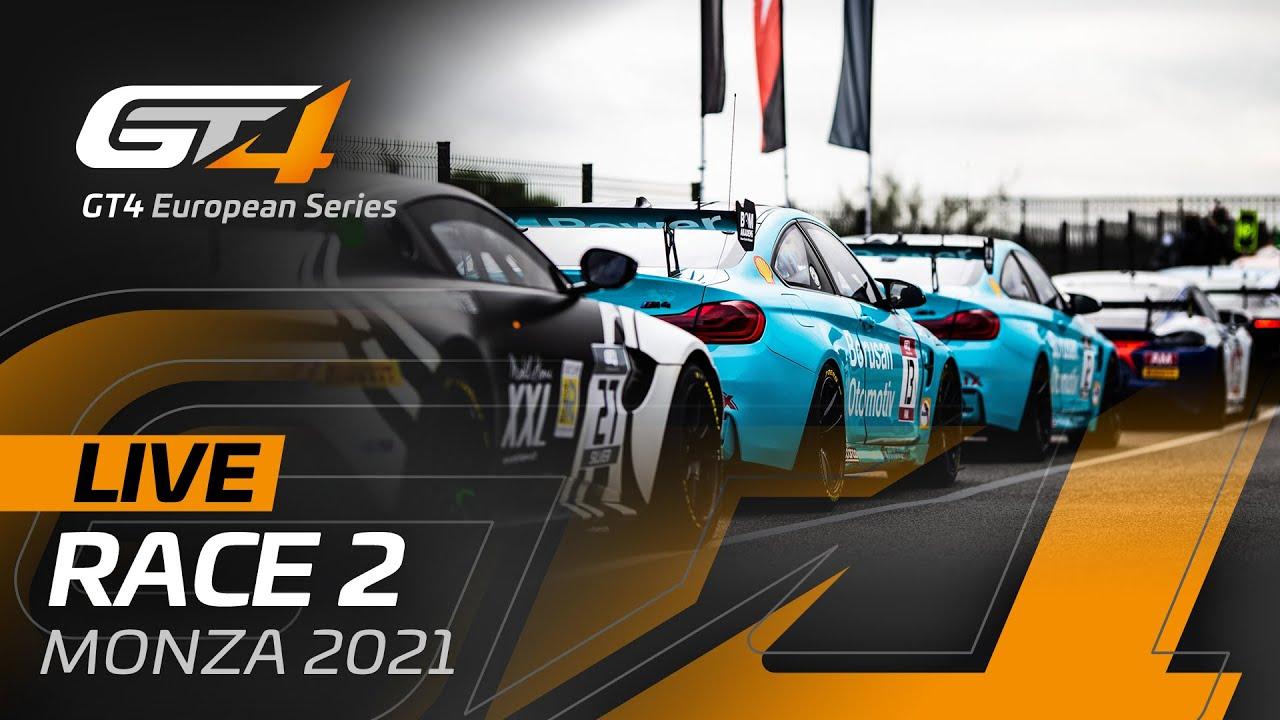 LIVE FROM MONZA - RACE 2 - GT4 EUROPEAN SERIES 2021