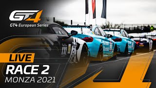 LIVE FROM MONZA - RACE 2 - GT4 EUROPEAN SERIES 2021