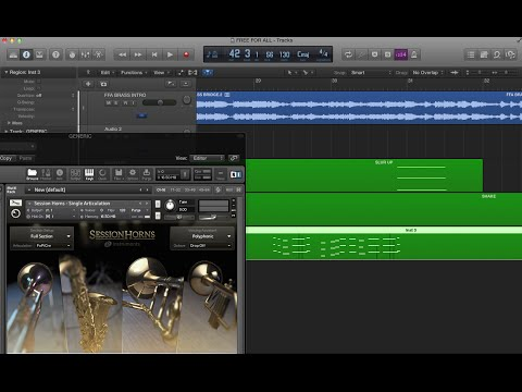 Create REALISTIC Brass/Horn Lines Easy, Quick, and CHEAP!!!