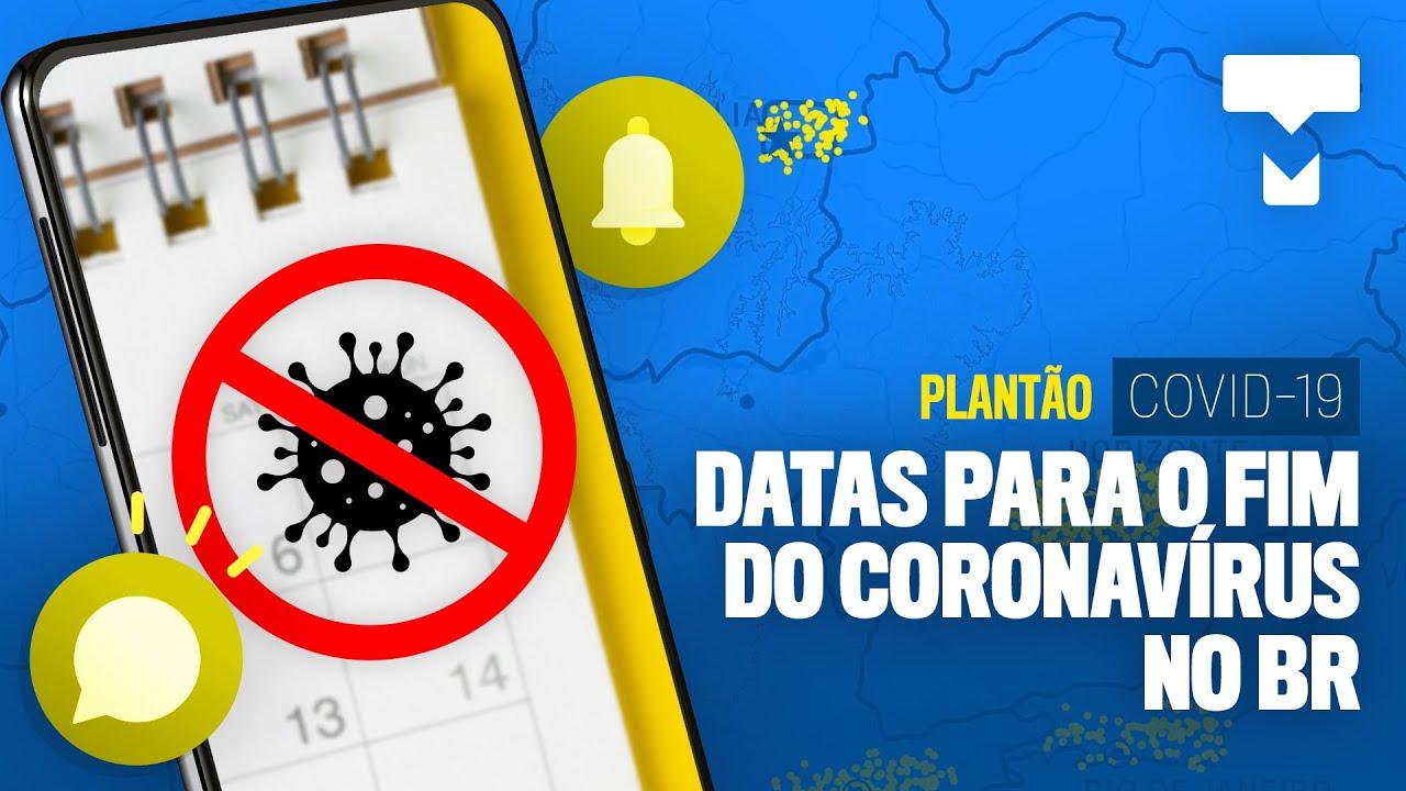 """Site """"prevê"""" fim da pandemia no BR e teste rápido nas farmácias – Plantão COVID-19 As boas notícias"""