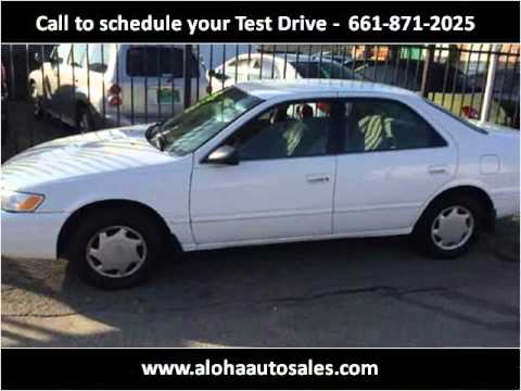 1998 Toyota Camry Used Cars Bakersfield CA