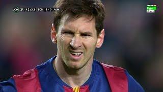 Lionel Messi vs Almeria (Home) 14-15 HD 720p (08/04/2015) - English Commentary