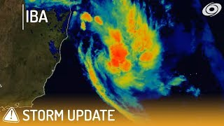 Tropical Storm Iba off the coast of Brazil - 10pm BST March 24, 2019