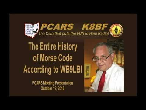 The History of Morse Code According to WB9LBI