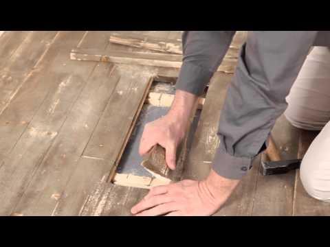 C mo reparar un piso laminado h medo doovi - Reparar piso parquet ...