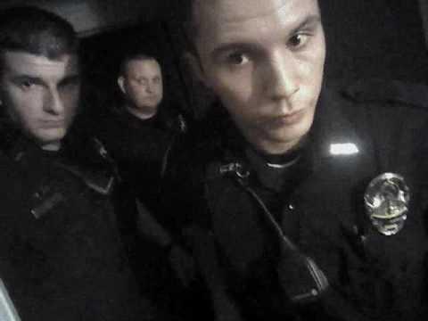 Muskogee police pepper spray woman (1 of 4 raw videos: Hamlin #1)