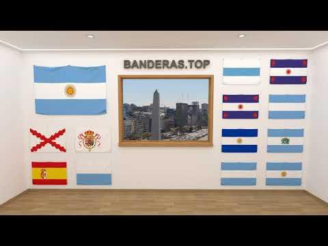 Himno y banderas de Argentina | Argentina flags and anthem
