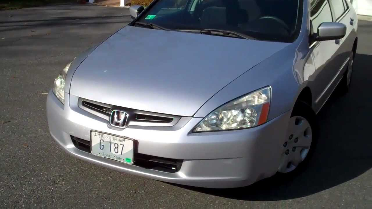 2003 honda accord lx for sale in rhode island 7 800 or. Black Bedroom Furniture Sets. Home Design Ideas