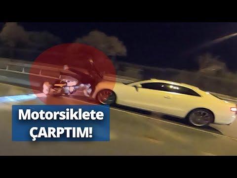 TRAFİK KAZASI YAPTIM! (Bir Anda önüme Motosiklet çıktı)