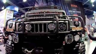 HIMA Monster Hummer H1 Tour SEMA 2015 11-4-15