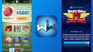 Play Games and Win Real Cash with WorldWinner!