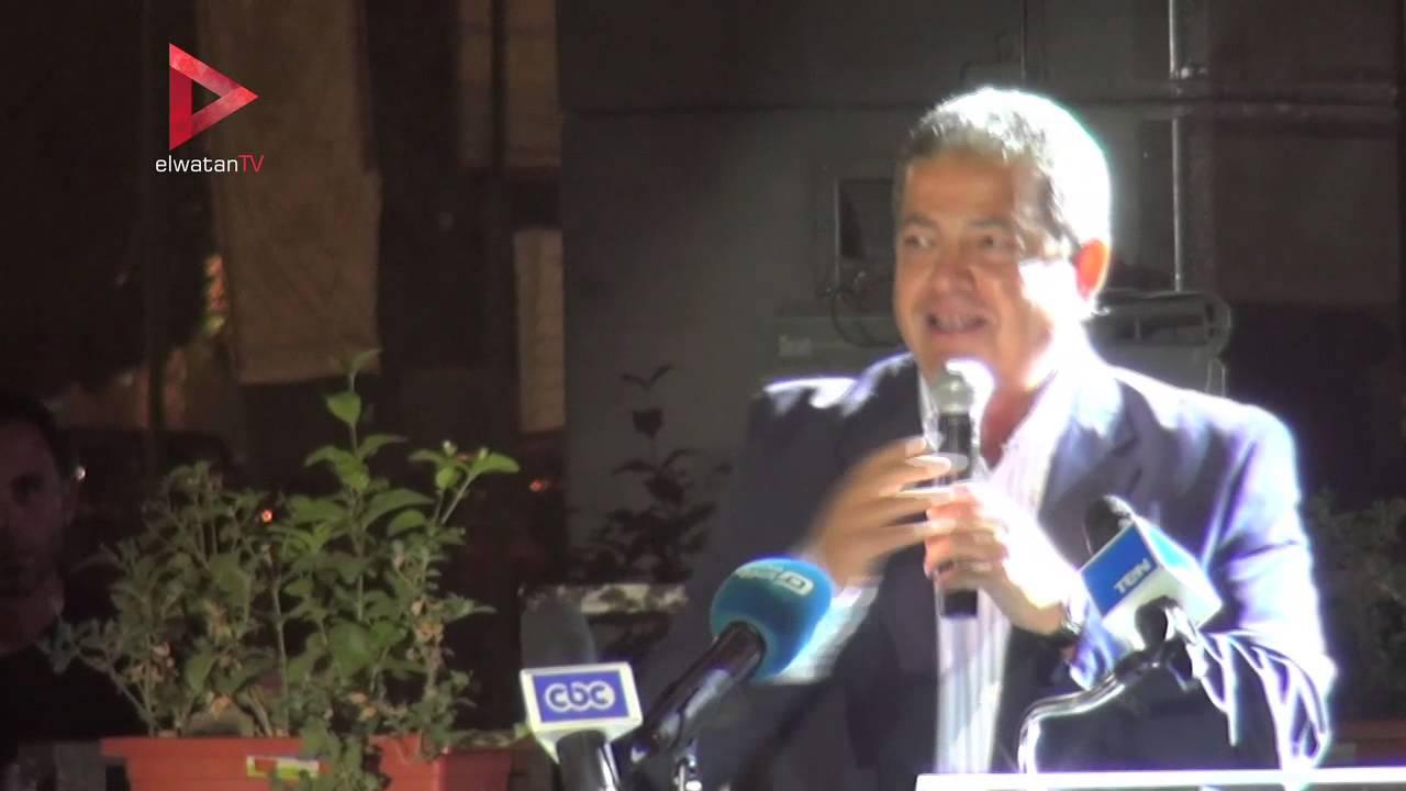 الوطن المصرية: وزير الشباب والرياضة يبكي أثناء كلمته في تكريم أبطال حرب أكتوبر