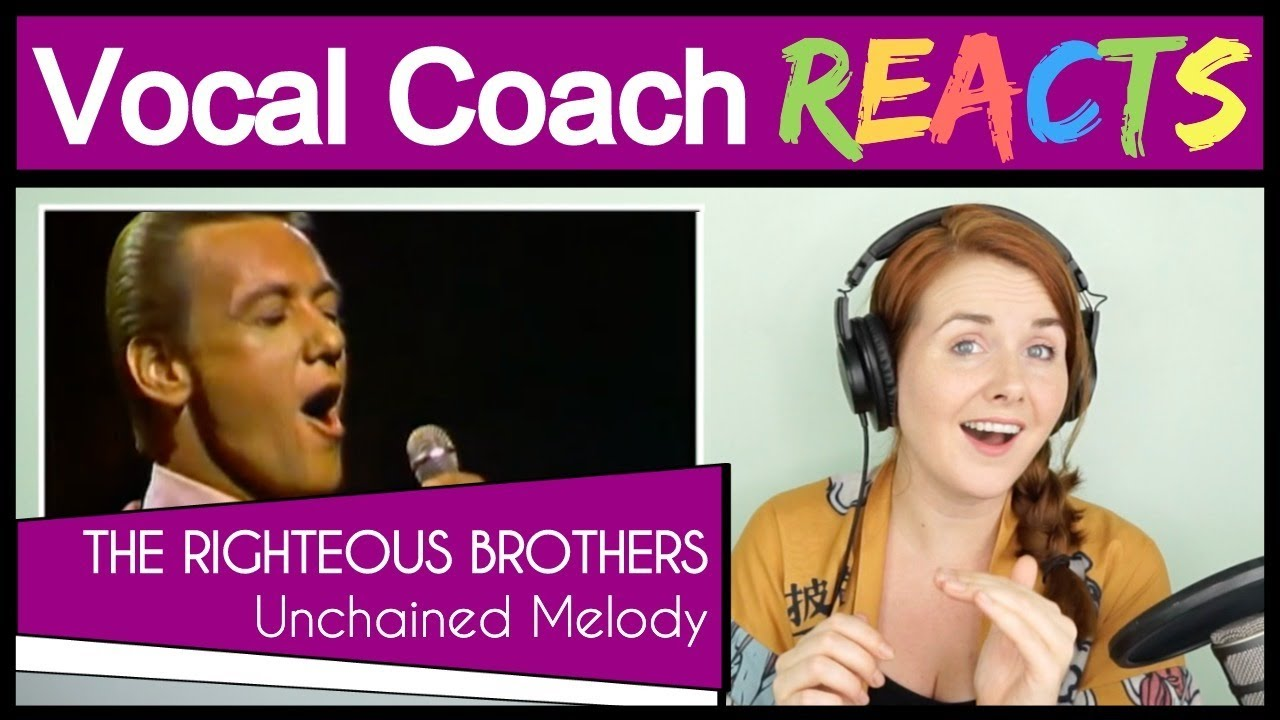 Vocal Coach reacts to The Righteous Brothers - Unchained Melody (Robert Hatfield Live)