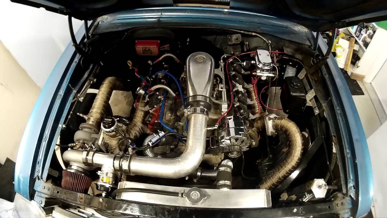 5 3 LS Blowthrough Turbo Chevy II - 2nd Gear Testing/Tuning - Air/Fuel