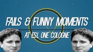Fails & Funny moments#2 (ESL One Cologne Part 1)