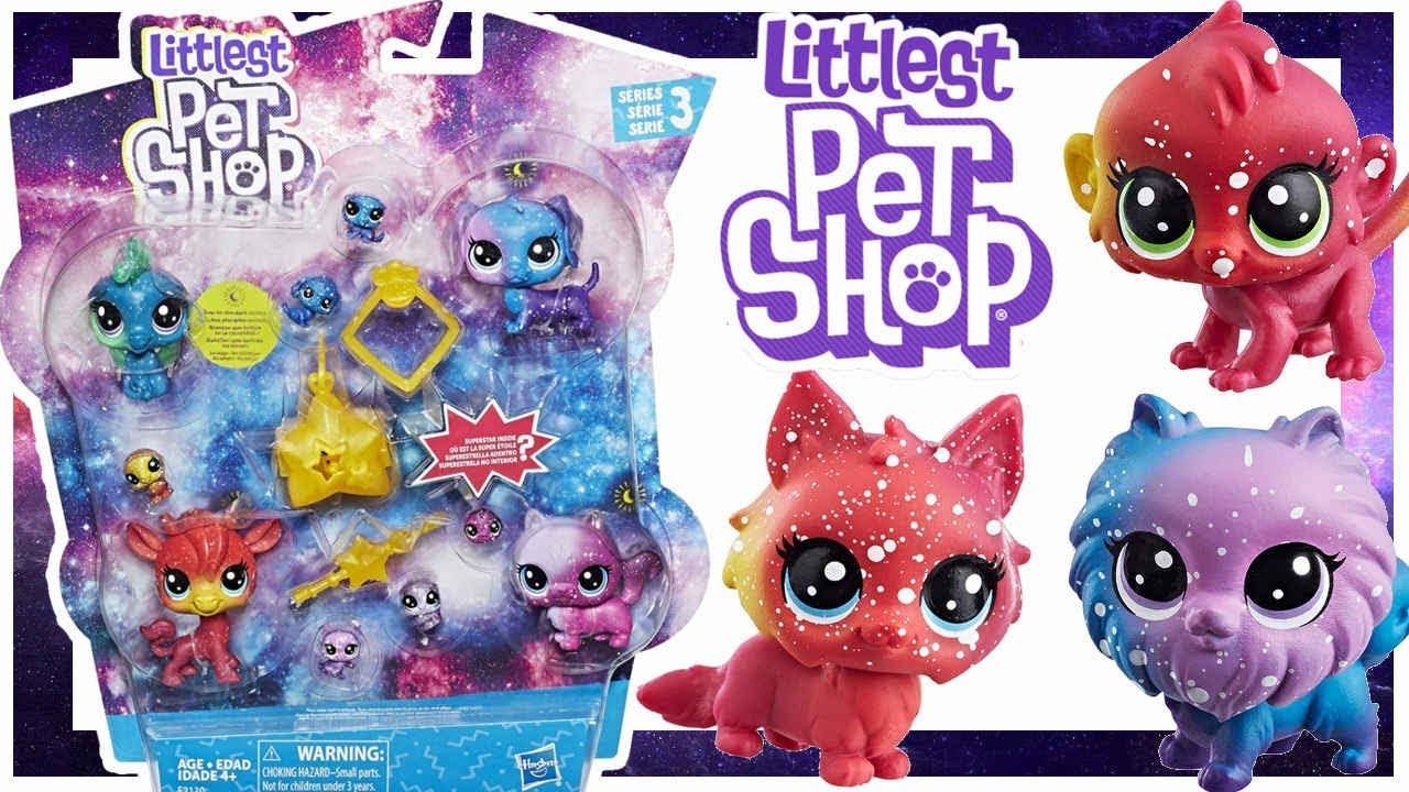 Littlest Pet Shop • Kosmiczne zwierzaki • E2130 • Nowe LPS