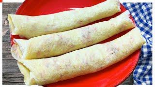 Substitua o pão por essa delícia no café da manha ou lanche. É rápido, barato e saudável!