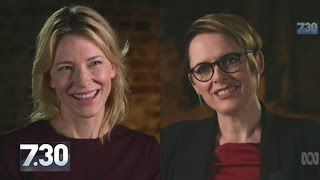 Cate Blanchett talks love, climate change and blowing up the internet