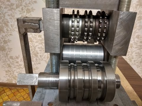 Блок для усиления профильной трубы из трубогиба