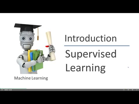 Supervised Learning by Andrew Ng