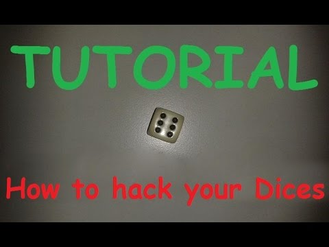 Tutorial 🎲: How to manipulate a dice / hack a dice / trick dices hack /  cheat / cheating