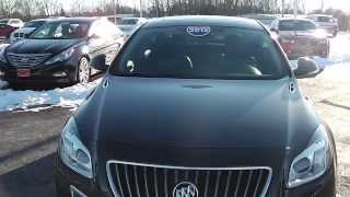 2012 Buick Regal GS Sedan Black for sale Dayton Troy Piqua Sidney Ohio | 26859A
