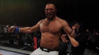 "UFC 3 ""Hendo"" in action"