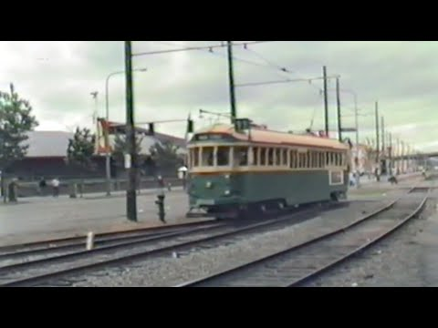 Seattle Waterfront Trolleys Pt 1 1985