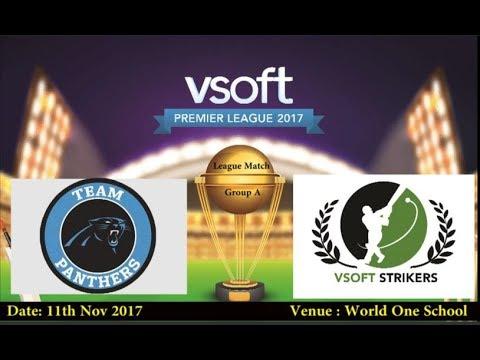 VSOFT Premier League 2017 | Group A League | Strikers vs Panthers
