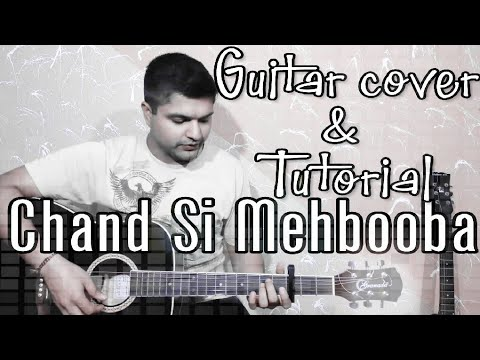Chand Si Mehbooba | Mukesh | Guitar cover | Acoustic Dev | Guitar Tutorial