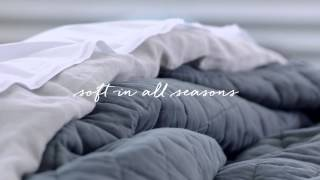 The Perfect Bedding For All Seasons | west elm