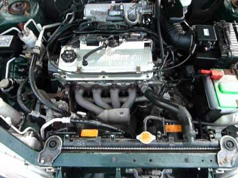 2000 mitsubishi mirage de youtube rh youtube com 2001 Mitsubishi Eclipse Engine Diagram 2002 Mitsubishi Galant Engine Diagram