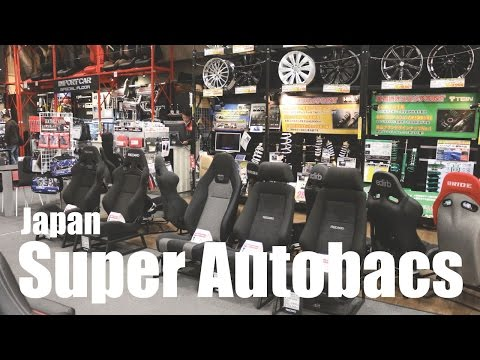 So Exciting! First Day In Japan - Super Autobacs (JDM Parts Store) & Gundam Statue - PerformanceCars
