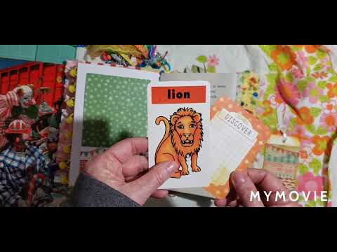 animal-cracker-box-circus-junk-journal,-available