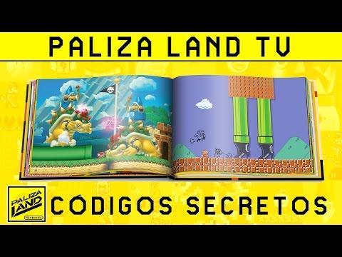 Trucos y Secretos SUPER MARIO MAKER - Cómo y dónde introducir códigos del libro de ideas