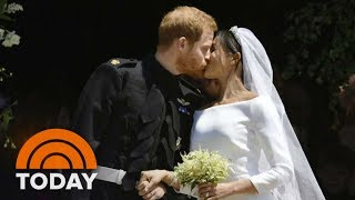 Royal Wedding Harry And Meghan Leave St. Georges Chapel As Husband And Wife TODAY