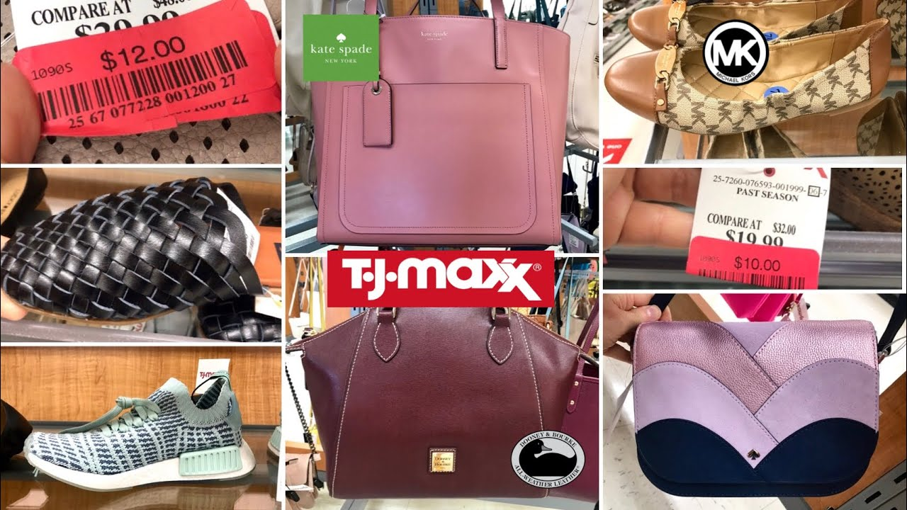 TJ MAXX SHOP WITH ME DESIGNER SHOES & HANDBAGS CLEARANCE & NEW FINDS