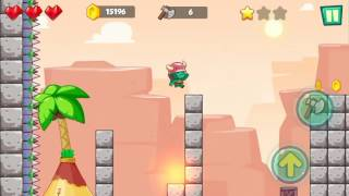 Jungle Adventures: Super World - Sahara Level 4... Gameplay (Free Game On Android)