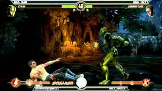 MK9 casuals, GGA HAN (Cyrax) vs GGA Dizzy (Cage)