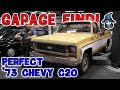 A perfect Garage Find! The Car Wizard Reviews A Showroom 1973 Custom Deluxe C20 Chevy Truck