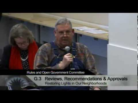 12/11/13 - San Jose City Hall - Rules & Open Government Committee
