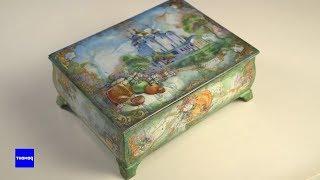 Федоскинская лаковая миниатюра. Традиции русского ремесла | #ДелоМастера