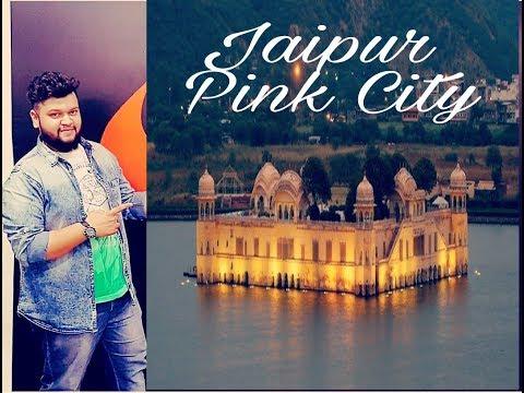 Jaipur, India, Jal Mahal, Water Palace Night Life 2018
