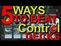 5 Ways to beat control | Magic Arena |  Total Jank |