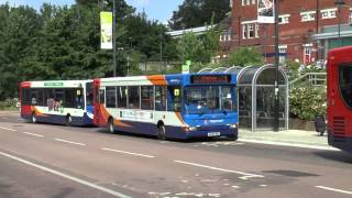 BASINGSTOKE BUSES JULY 2013