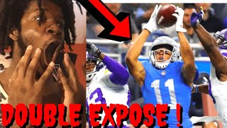 LIONS VS VIKINGS REACTION NFL WEEK 7 HIGHLIGHTS - EXPOSED BOTH OF THEM IN THE ENDZONE !