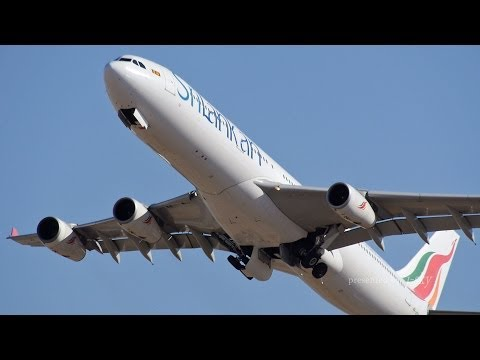 SriLankan Airlines Airbus A340-313 [4R-ADG] : Take-off