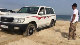 Driving tips how not to stuck at the beach